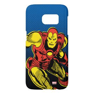 Iron Man Retro Flying Samsung Galaxy S7 Case