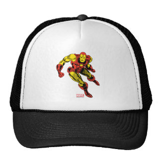 Iron Man Retro Flying Trucker Hat