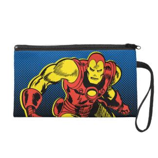 Iron Man Retro Flying Wristlet Clutches