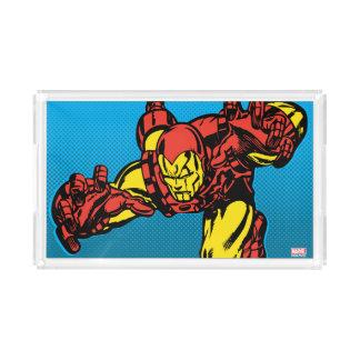 Iron Man Retro Grab Acrylic Tray