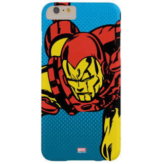 Iron Man Retro Grab Barely There iPhone 6 Plus Case