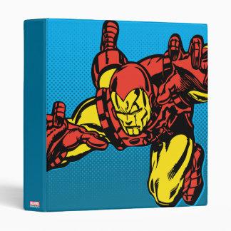 Iron Man Retro Grab Binder