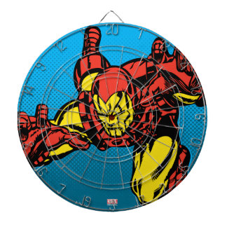 Iron Man Retro Grab Dartboard