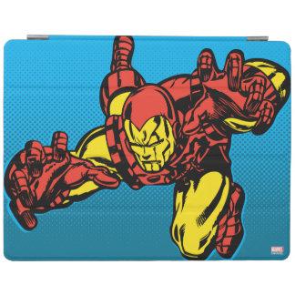Iron Man Retro Grab iPad Cover