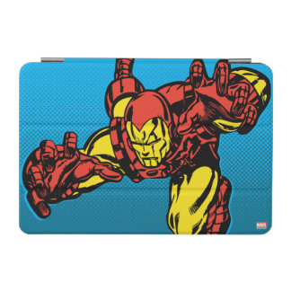 Iron Man Retro Grab iPad Mini Cover