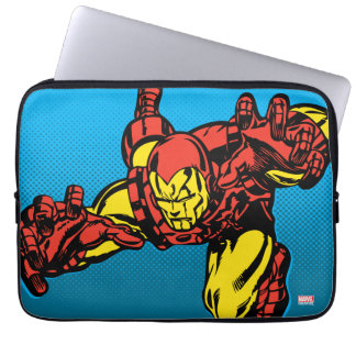 Iron Man Retro Grab Laptop Sleeve