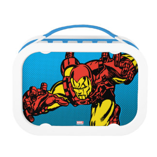 Iron Man Retro Grab Lunch Box