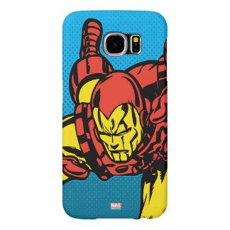 Iron Man Retro Grab Samsung Galaxy S6 Cases