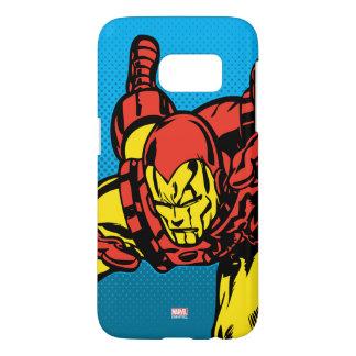 Iron Man Retro Grab Samsung Galaxy S7 Case