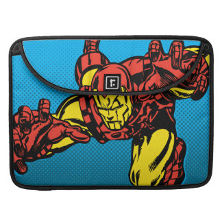 Iron Man Retro Grab Sleeve For MacBook Pro