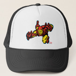 Iron Man Retro Grab Trucker Hat