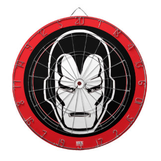 Iron Man Retro Icon Dartboards