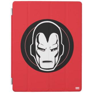 Iron Man Retro Icon iPad Cover