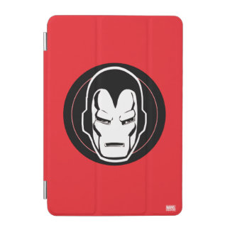 Iron Man Retro Icon iPad Mini Cover
