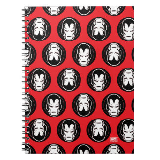Iron Man Retro Icon Notebooks