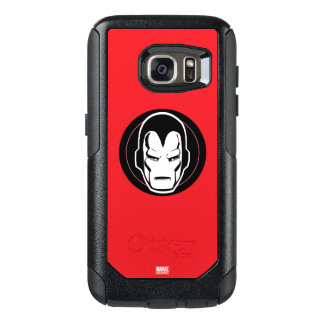 Iron Man Retro Icon OtterBox Samsung Galaxy S7 Case