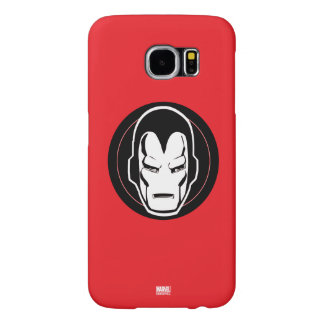 Iron Man Retro Icon Samsung Galaxy S6 Cases