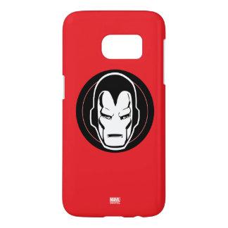 Iron Man Retro Icon Samsung Galaxy S7 Case