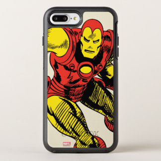 Iron Man Retro Jump OtterBox Symmetry iPhone 7 Plus Case