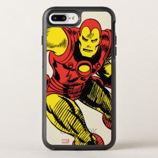 Iron Man Retro Jump OtterBox Symmetry iPhone 8 Plus/7 Plus Case
