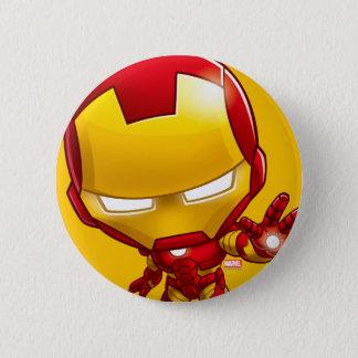 Iron Man Stylized Art 2 Inch Round Button