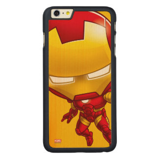 Iron Man Stylized Art Carved® Maple iPhone 6 Plus Case