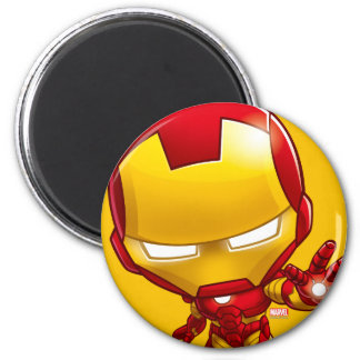 Iron Man Stylized Art Magnet