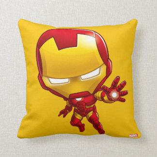 Iron Man Stylized Art Throw Pillow