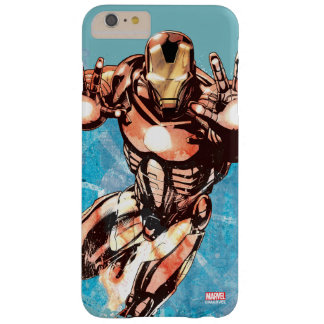 Iron Man Watercolor Character Art Barely There iPhone 6 Plus Case