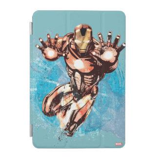 Iron Man Watercolor Character Art iPad Mini Cover