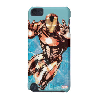 Iron Man Watercolor Character Art iPod Touch 5G Covers