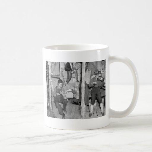 Iron River Fiddle Family, 1930s Mug