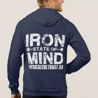 Iron State of Mind - For Lifters Hooded Pullover