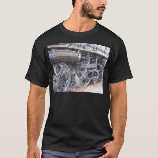 Iron Wheels Railroad Steam Engine Train T-Shirt