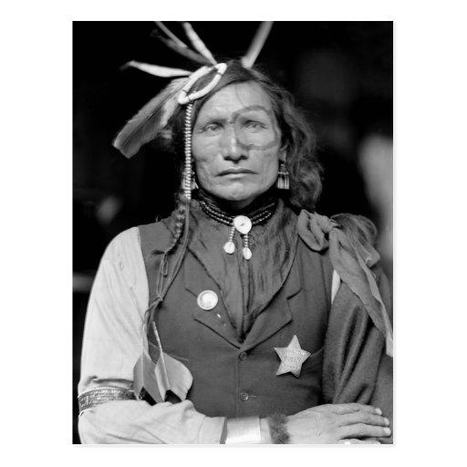 Iron White Man: 1900 Postcards