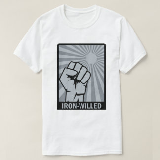 Iron-Willed - Fist - Rising Sun T-Shirt