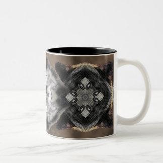 Iron wolf Two-Tone coffee mug
