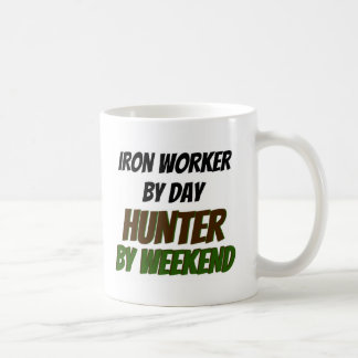 Iron Worker by Day Hunter by Weekend Coffee Mug