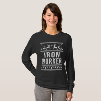 Iron Worker Ugly Christmas Sweater