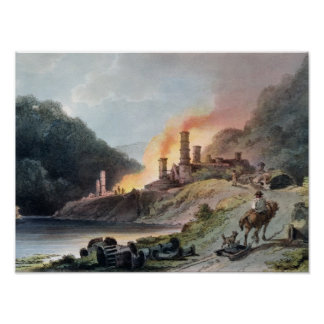 Iron Works, Coalbrookdale Poster