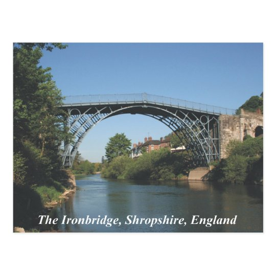 Ironbridge Shropshire Postcard
