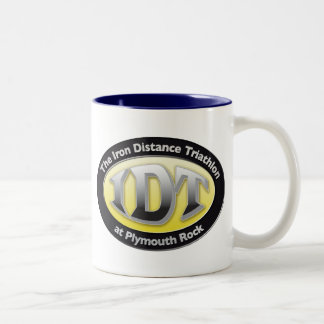 IronDistance Triathlon Two-Tone Coffee Mug