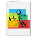 Ironman Abstract 4 Greeting Cards