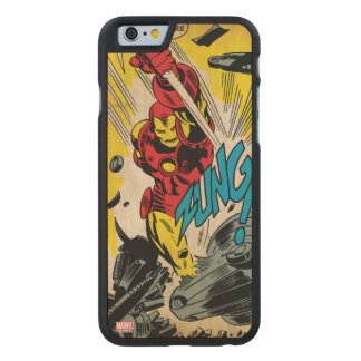 IronMan-And Then There Were None Carved® Maple iPhone 6 Case