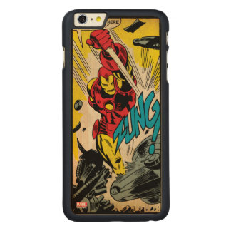 IronMan-And Then There Were None Carved® Maple iPhone 6 Plus Case