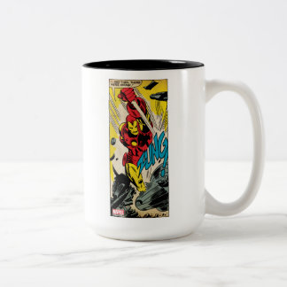 IronMan-And Then There Were None Two-Tone Coffee Mug