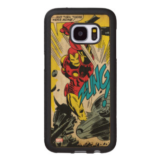 IronMan-And Then There Were None Wood Samsung Galaxy S7 Case