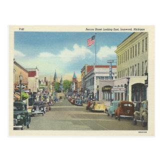 Ironwood Michigan Postcard