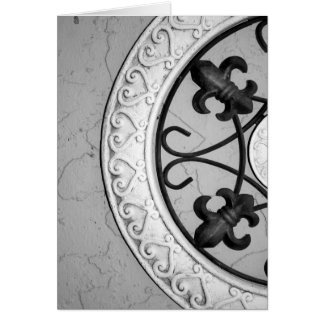 Ironwork Medallion card