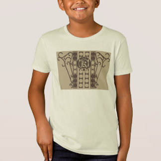 IRONWORK SCROLLWORK 2 Kids' American Apparel Organ Tee Shirt